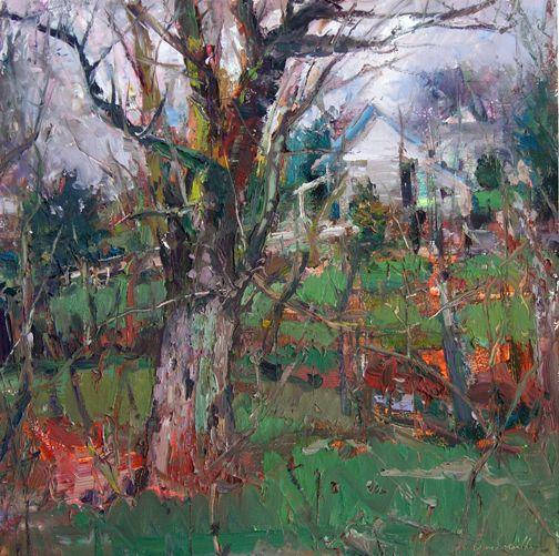 Conestoga Landscape Red Raven Art Company